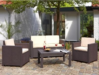 Arredo giardino arredo esterno campeggio salottini for Salottino da esterno offerte